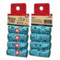 Poo Bags 80 bolsas (4x20)