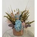 Centro flor seca Paloma