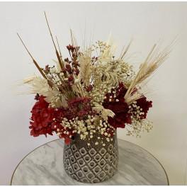 Centro flor seca Sara