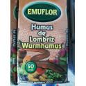 Humus de Lombriz Emuflor 50 litros