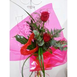 Ramo 2 Rosas y Corazon