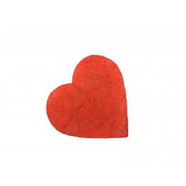 Corazón Sisal 20cm